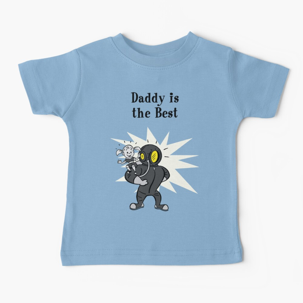 BioShock – Daddy is the Best Poster (Black) Baby T-Shirt