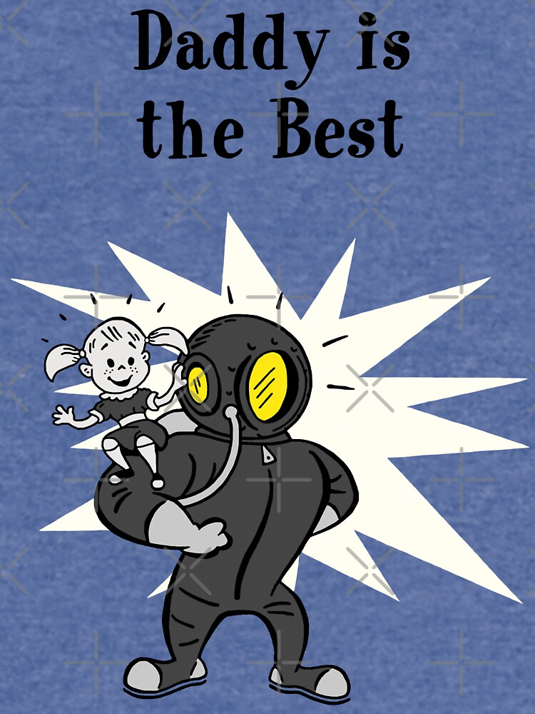 BioShock – Daddy is the Best Poster (Black) by PonchTheOwl