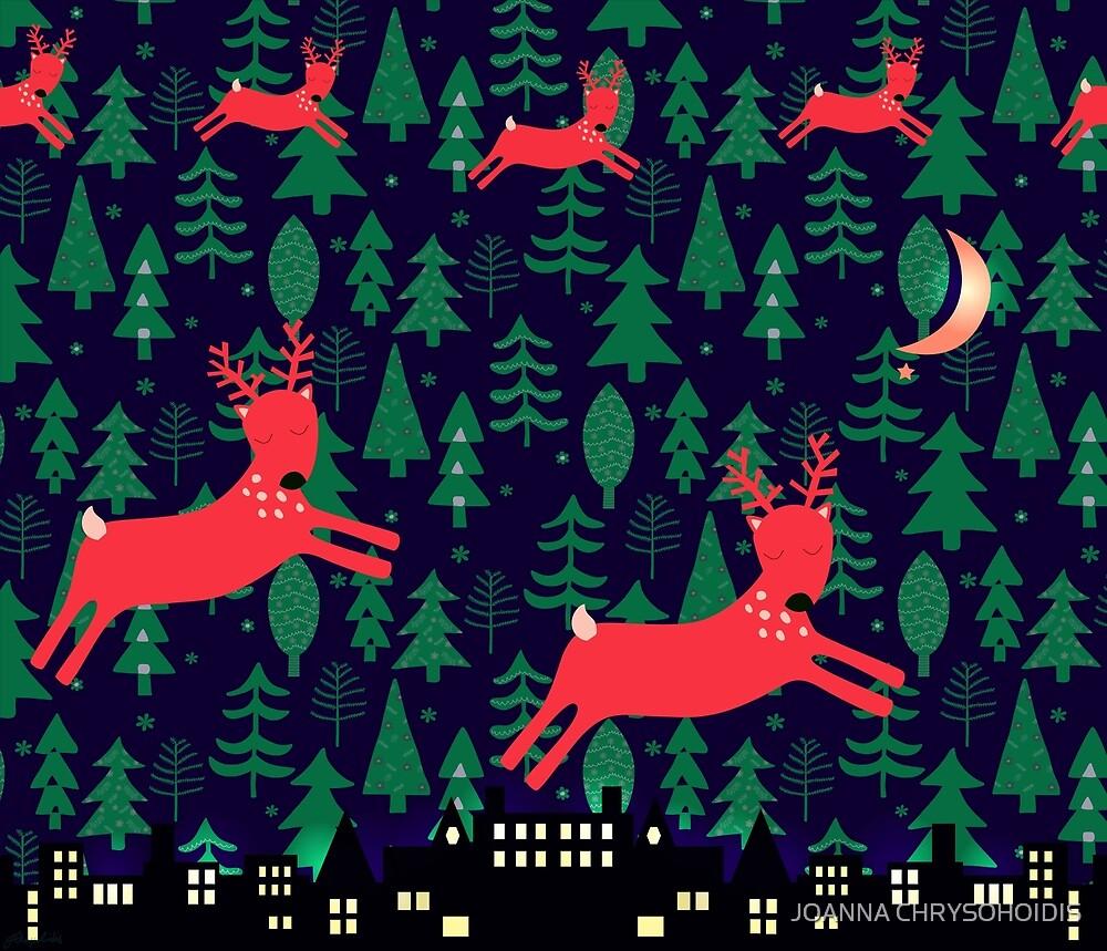 Reindeer by JOANNA CHRYSOHOIDIS
