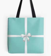 Blue Ribbon Gift Tote Bag