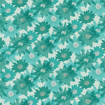 Retro 60s Lily Print by SuzieLondon