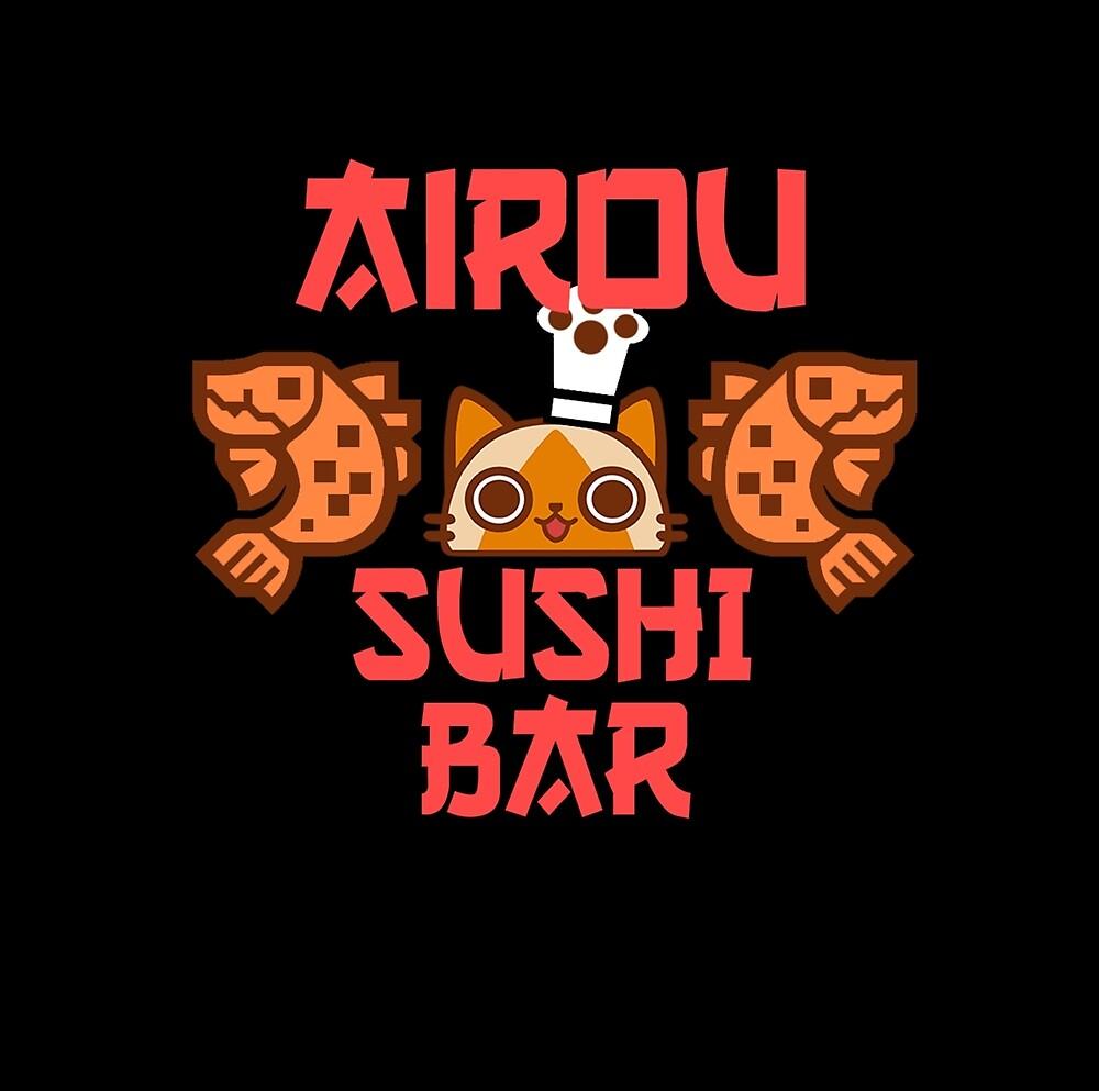 Airou sushi bar - Monster hunter by ElderStrikers