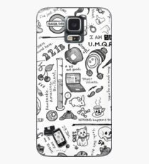 Sherlock Collage (grayscale) Case/Skin for Samsung Galaxy