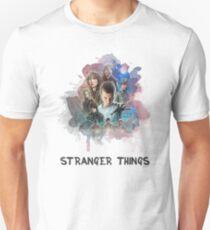 Stranger Things - Canvas Unisex T-Shirt