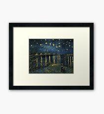 Vincent Van Gogh - Starry Night, 1888  Framed Print
