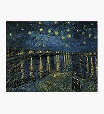 Vincent Van Gogh - Starry Night, 1888  Photographic Print