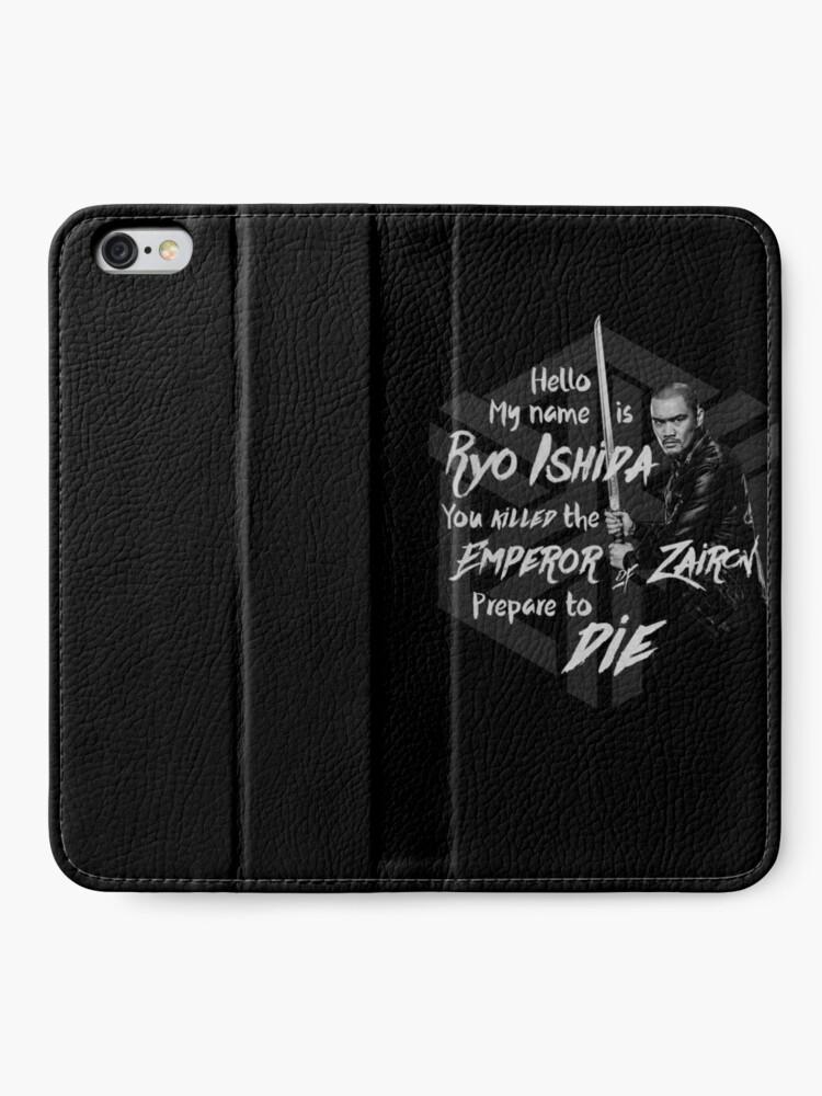 Alternative Ansicht von Bereite dich auf den Tod vor - Ryo Edition iPhone Flip-Case