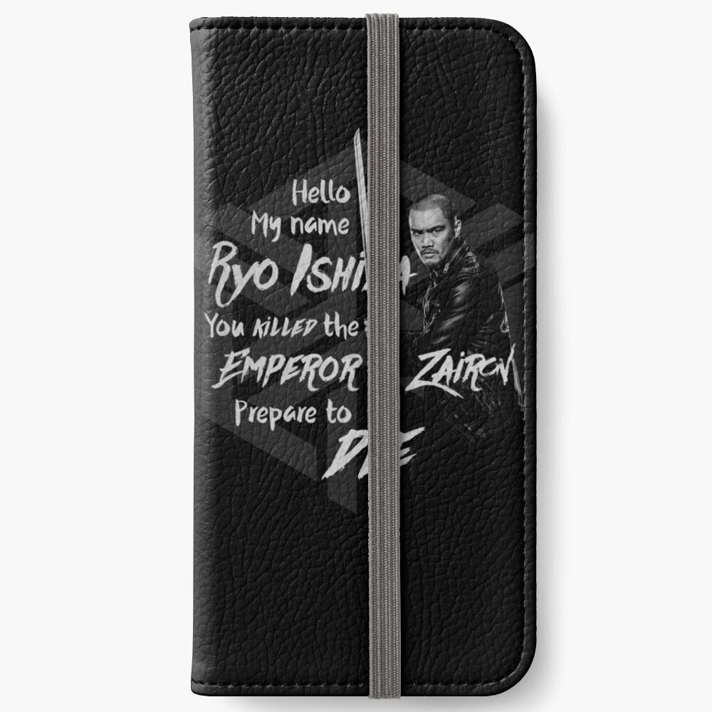 Bereite dich auf den Tod vor - Ryo Edition iPhone Flip-Case