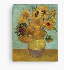 Vincent Van Gogh - Sunflowers, 1889 Canvas Print