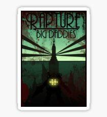 Bioshock Damaged Rapture Art Work  Sticker