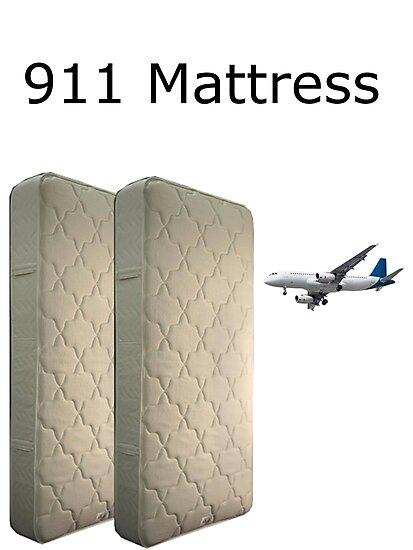 9 11 mattress commercial parody meme photographic prints by