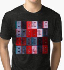 CASSETTE MOSAIC Tri-blend T-Shirt