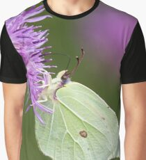 Brimstone Butterfly Graphic T-Shirt