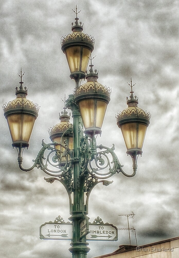 Old Fashioned Gaslights! by Brian Sharland