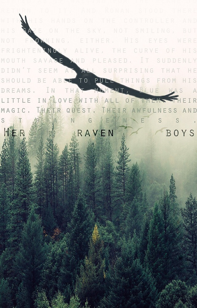 """""""Her Raven Boys"""" POSTER by retribution1832"""