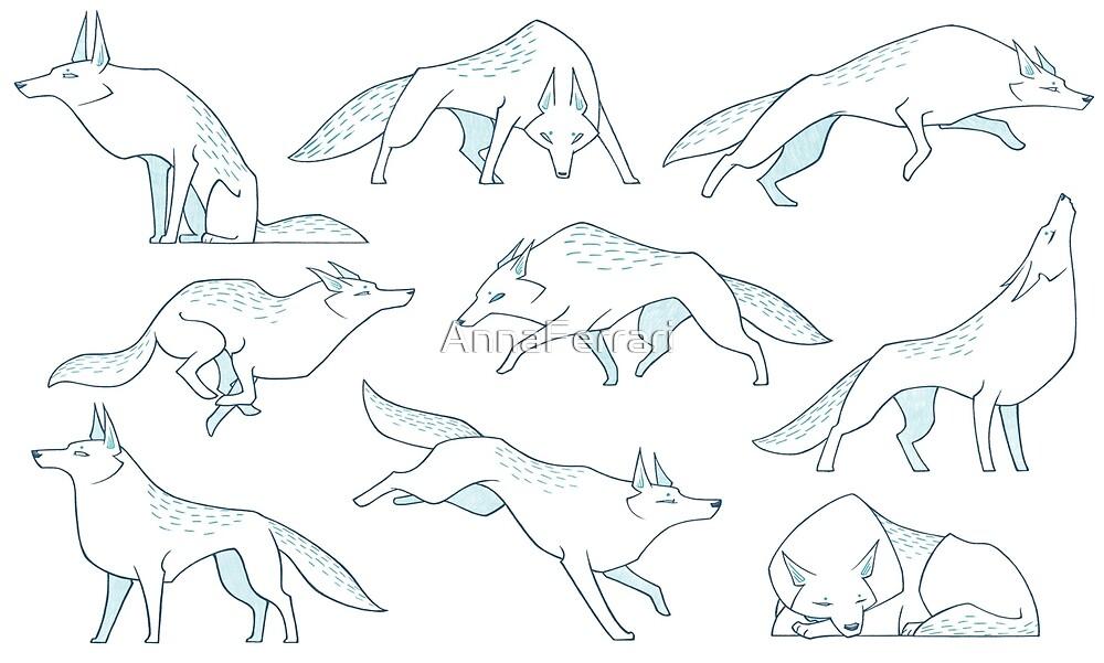 Wolves! by AnnaFerrari