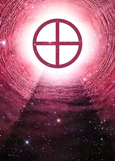 Gnosticism (Sun cross) by Powerofwordss