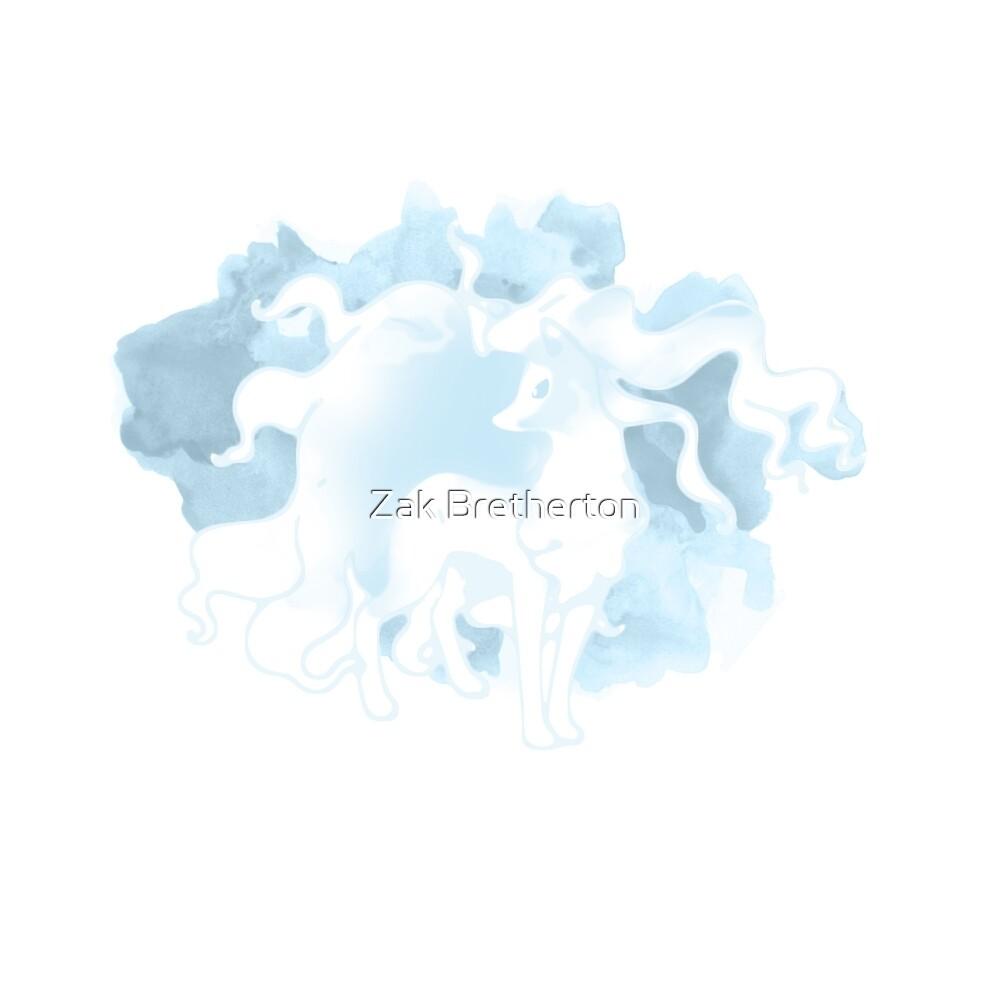 Ice Ninetails  by Zak Bretherton