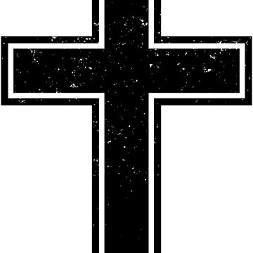 Vintage Christian Cross by christianshirts