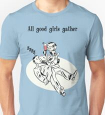 BioShock – All Good Girls Gather Poster (Black) T-Shirt