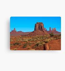 Amazing Daytime Image of Monument Valley Canvas Print