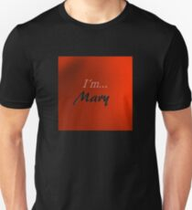 Mary in red Unisex T-Shirt