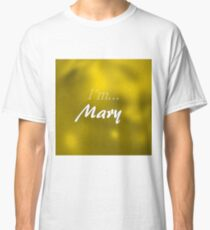 Mary in gold Classic T-Shirt