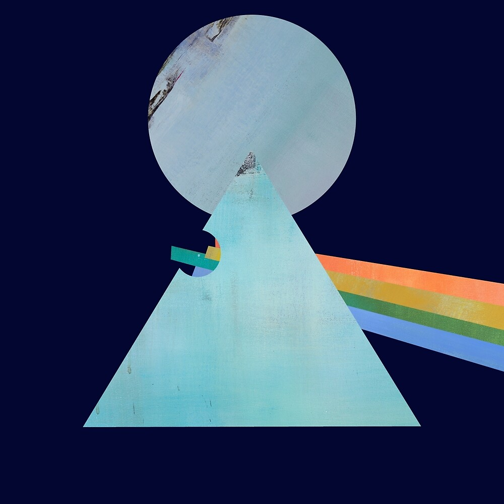 Fan Art Inspired by Pink Floyd's Dark Side of the Moon by jacgouveia