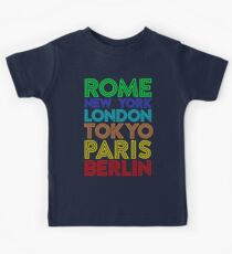 Capital Cities Kids Clothes