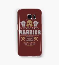 Keyboard Warrior Samsung Galaxy Case/Skin