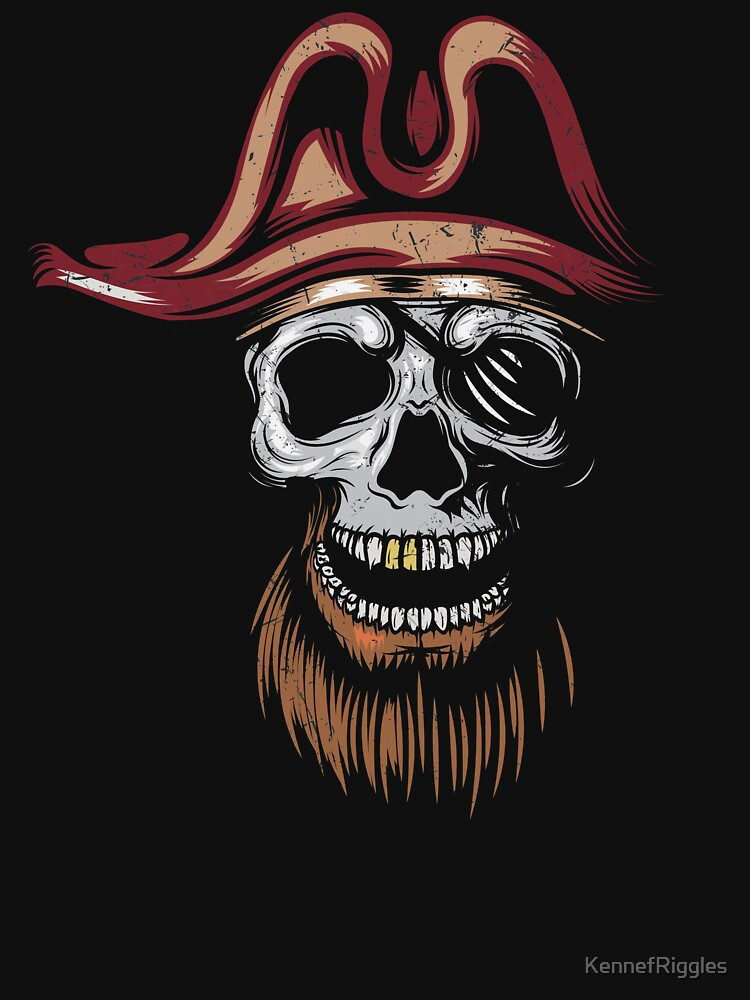 PIRATE TEE - CORSAIRS! by KennefRiggles