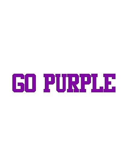 Color Wars- Go Purple by hcohen2000