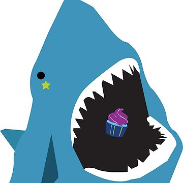 Shark & cupcake by CreativeClassic