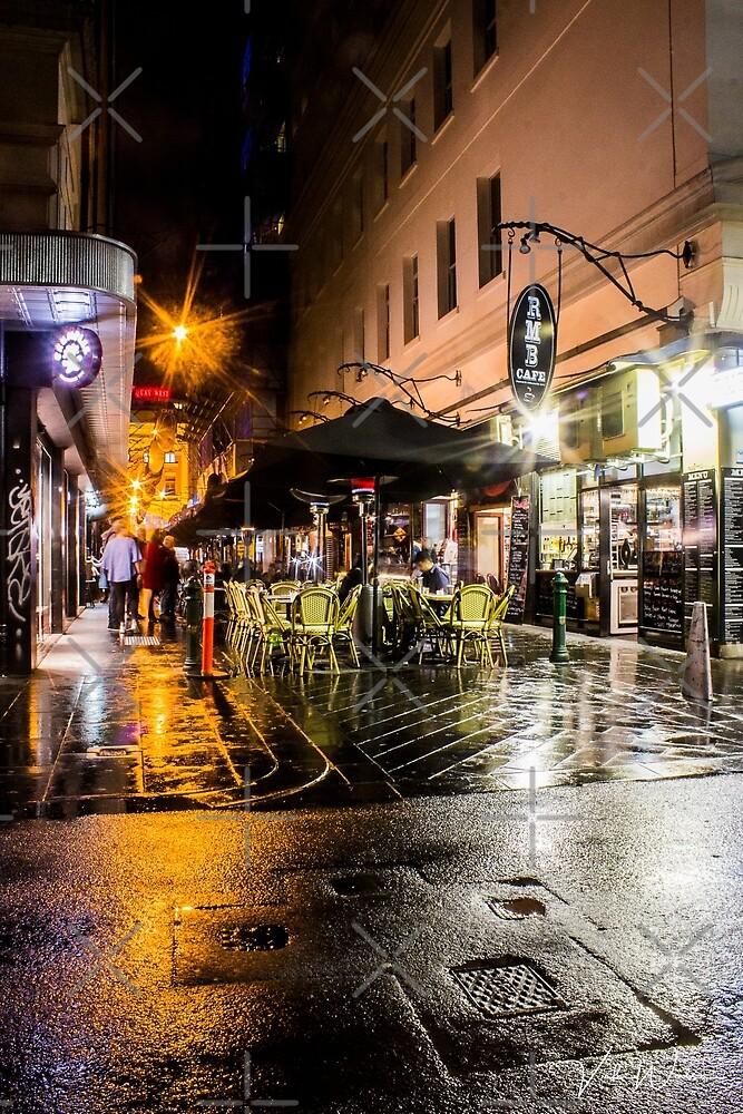 Degraves Street, Melbourne, Victoria, Australia by Vicki Walsh