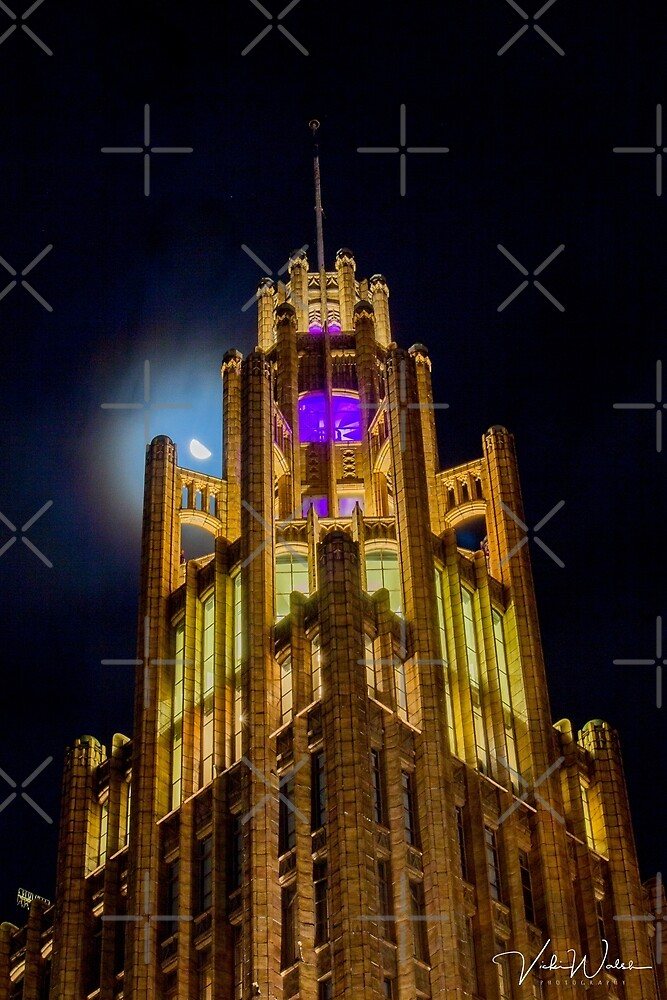 Manchester Unity Building, Melbourne, Victoria, Australia by Vicki Walsh