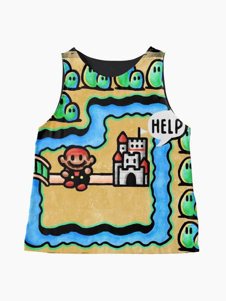 Alternate view of Super Mario 3 Level 1 Sleeveless Top