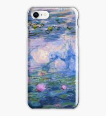 Claude Monet - Water Lilies 1919 iPhone Case/Skin