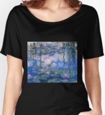 Claude Monet - Water Lilies 1919 Women's Relaxed Fit T-Shirt