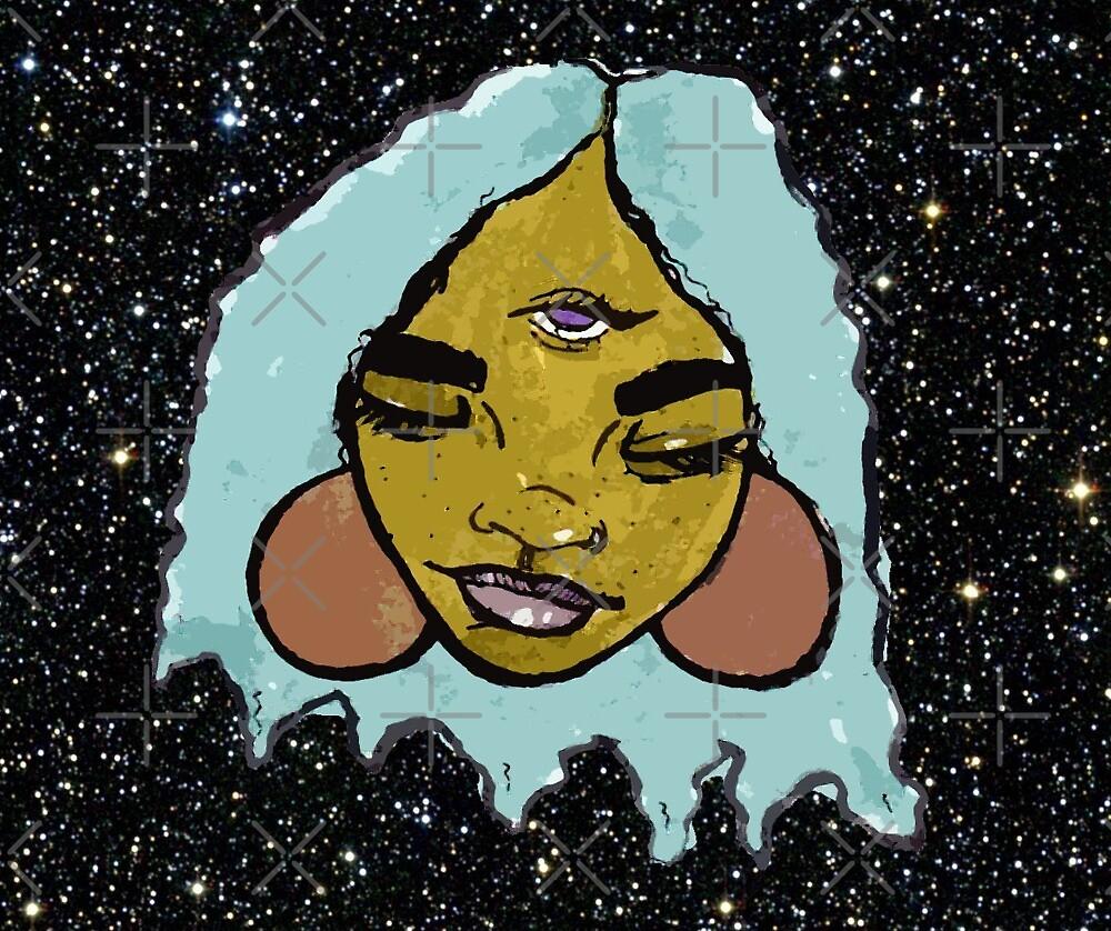 alien babe #1 by rashidachavis