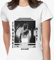 Awakened Miki Women's Fitted T-Shirt