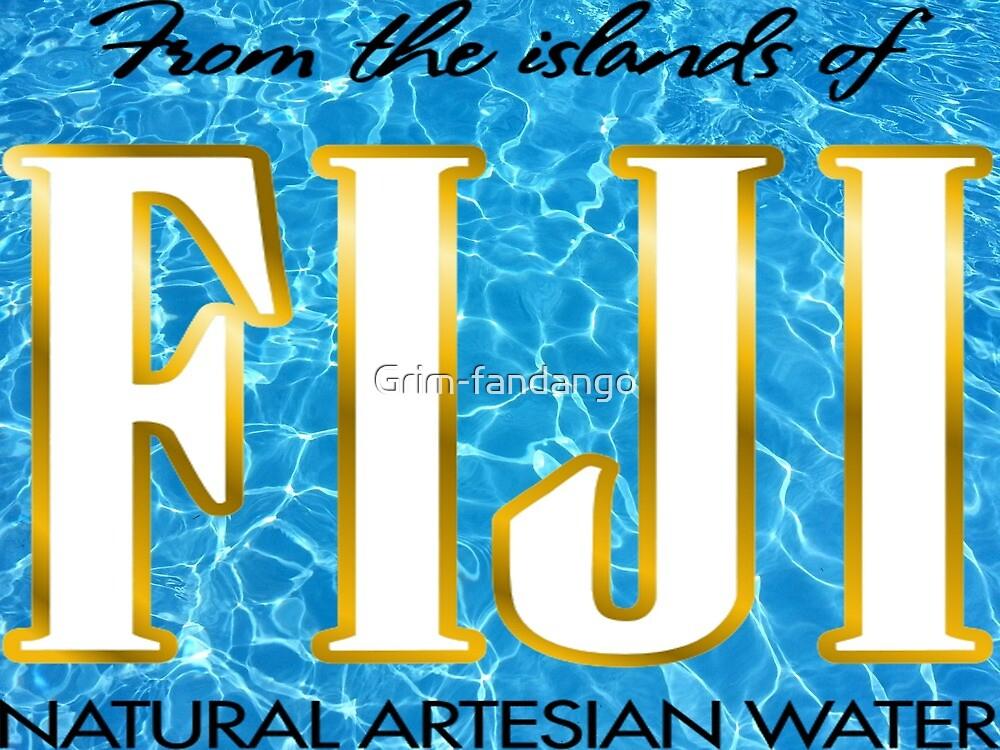Fiji mineral water by Grim-fandango