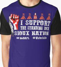 I Support Standing Rock Sioux Nation Graphic T-Shirt