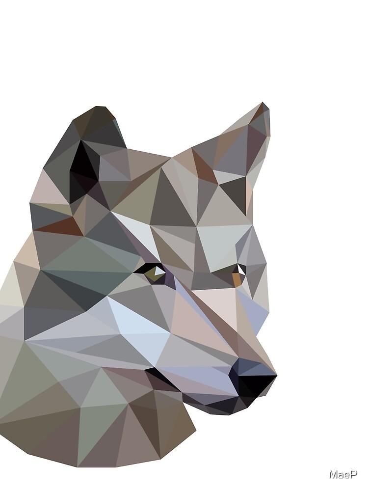 Wolfdog by MaeP