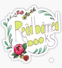 Read Banned Books Sticker
