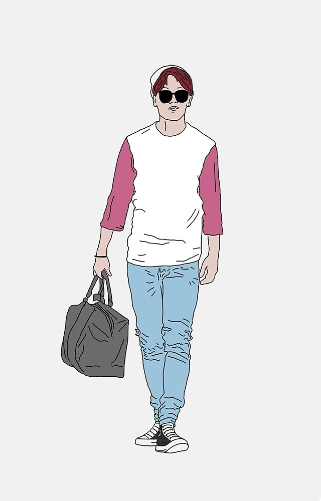 jimin's airport fashion by lightflake