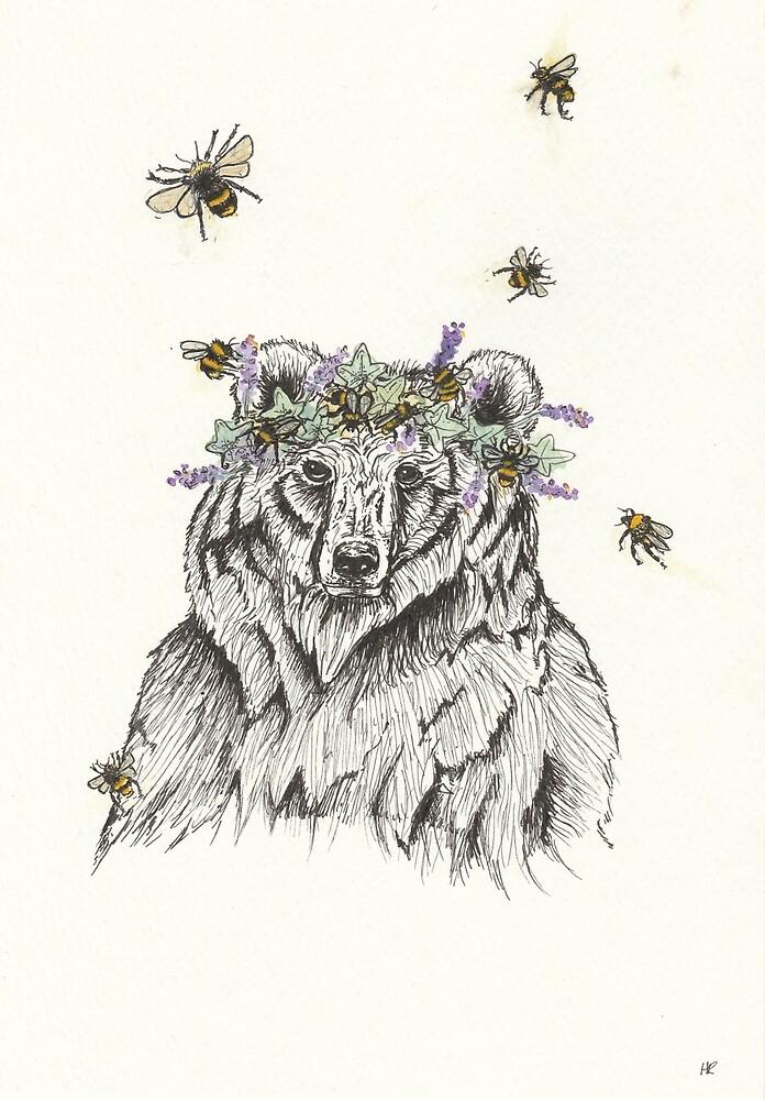The Bear and the Bees by HannahRaymond