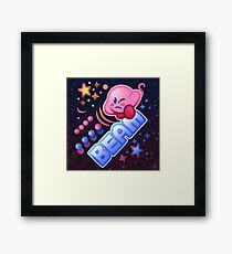 Kirby Beam Framed Print