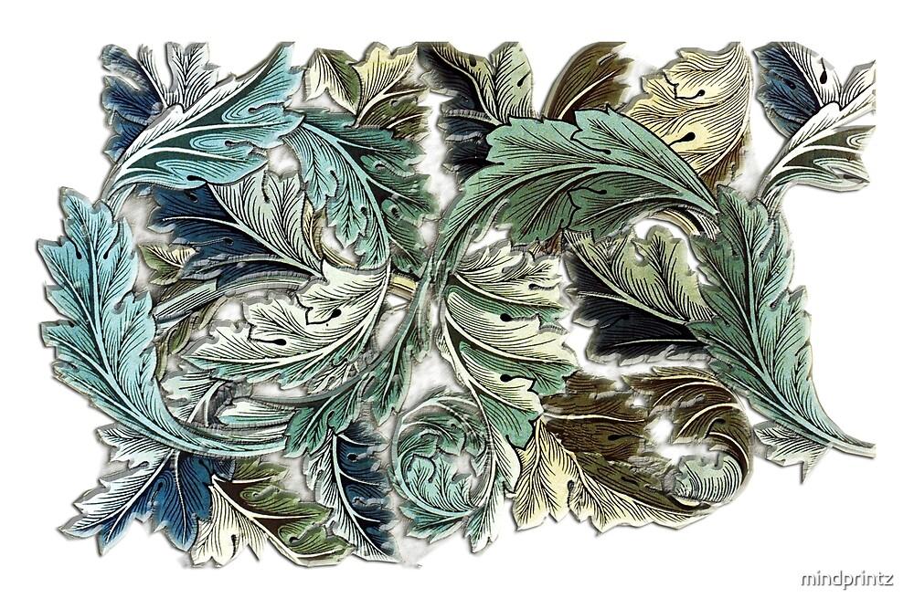 Leaves decor by mindprintz