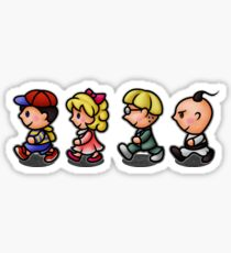Earthbound Guys Sticker