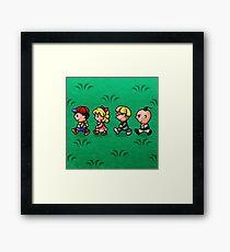 Earthbound Guys Framed Print